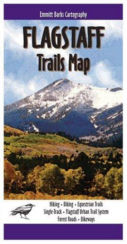 Flagstaff Trails Map: Emmitt Barks Cartography