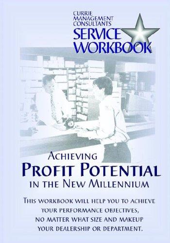 9780972491792: Currie Management Consultants Service Workbook