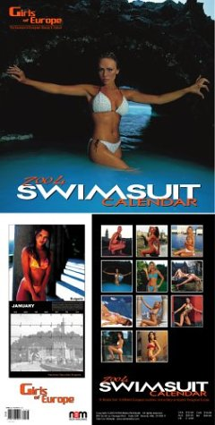 9780972555517: Girls of Europe Swimsuit 2004 Calendar
