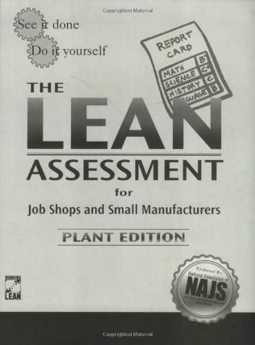 9780972572897: The Lean Assessment for Job Shops and Small Manufacturers