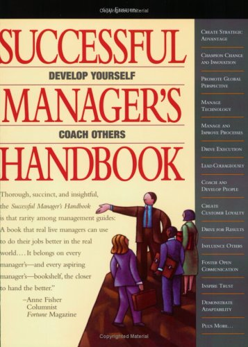 9780972577014: Successful Manager's Handbook: Development Suggestions for Today's Managers
