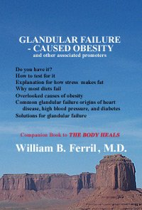 Glandular Failure - Caused Obesity (and other associated promoters): William B Ferril