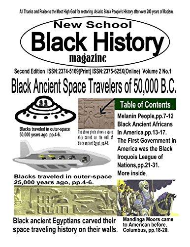 9780972583480: New School Black History Magazine #2