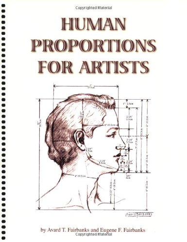 9780972584111: Human Proportions for Artists