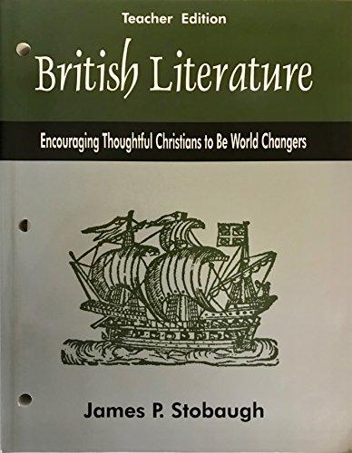 9780972589086: British Literature - Teacher's Edition