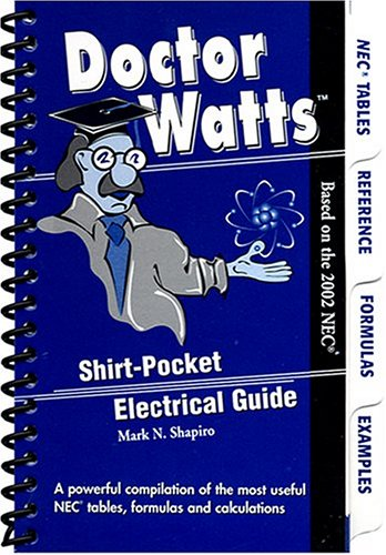 9780972629607: Dr. Watts Pocket Electrical Guide(Based on the 2002 NEC)