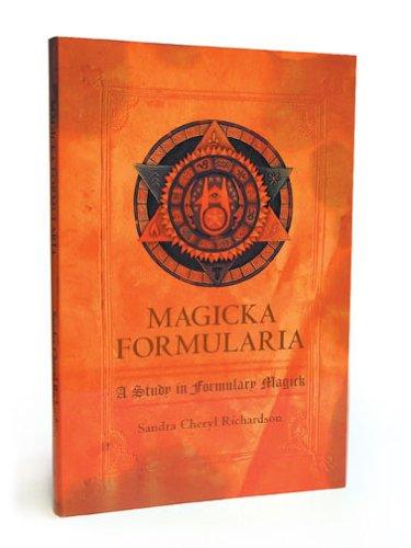 Magicka Formularia: Magicka Formularia, a Study in: Richardson, Sandra Cheryl