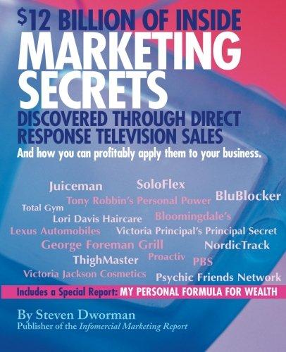 9780972643801: $12 Billion of Inside Marketing Secrets Discovered Through Direct Response Television Sales