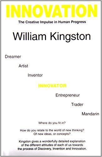 Innovation : the creative impulse in human: William Kingston