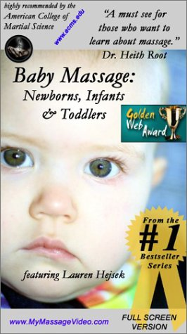 9780972704830: Baby Massage Therapy: Newborns, Infants & Toddlers [VHS]