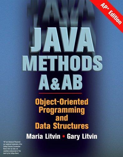 9780972705578: Java Methods A&AB, AP Edition
