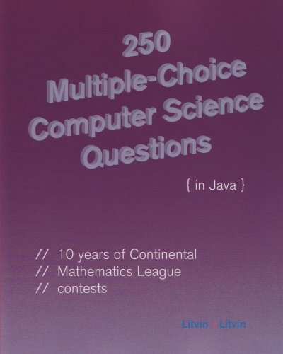 9780972705592: 250 Multiple-Choice Computer Science Questions in Java