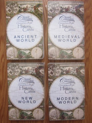 9780972719759: Classical Acts and Facts History Cards, all four packs, the Complete Set