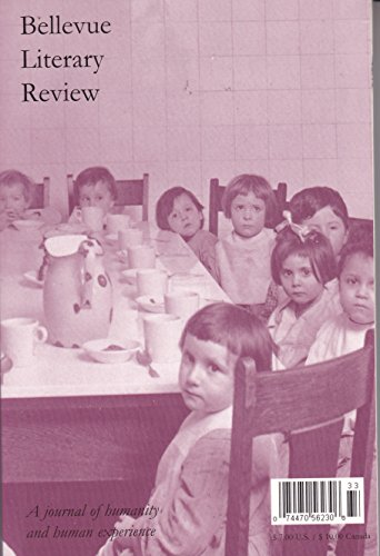 Bellevue Literary Review (volume 3)