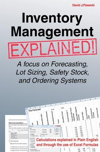 Inventory Management Explained: A focus on Forecasting,: Piasecki, David J.