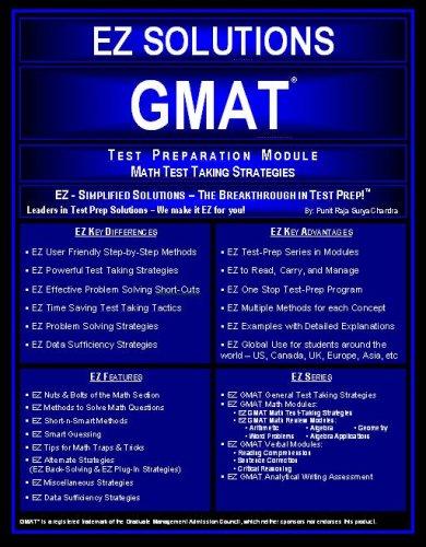 9780972779081: EZ GMAT - Math Strategies