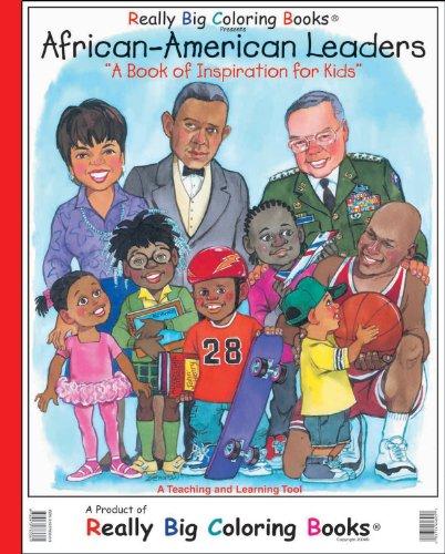 9780972783361: African American Leaders Giant Super Jumbo Coloring Book