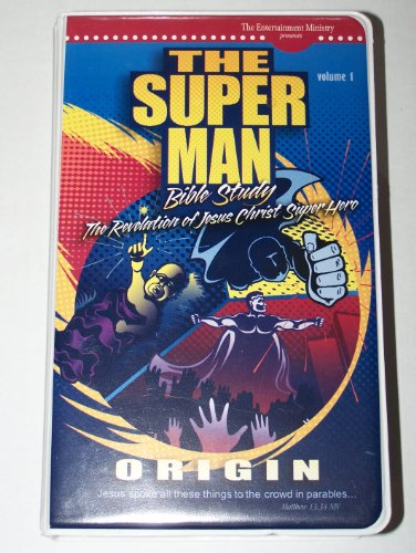 9780972800365: Super Man Bible Study, volume 1: Video Pack