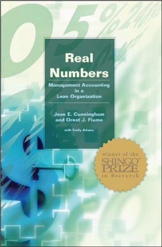 9780972809900: Real Numbers: Management Accounting in a Lean Organization