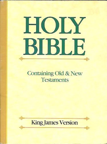 The Holy Bible Old and New Testaments: Inspirational Gift Company