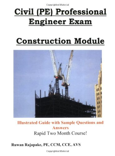9780972865739: Civil (PE) Professional Engineer Exam, Construction Module (First edition)