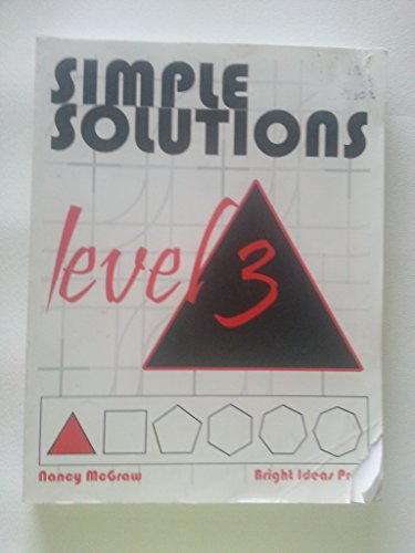 Simple Solutions Math Level 3: McGraw, Nancy L.