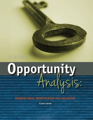 Opportunity Analysis: Izard, Mary Beth