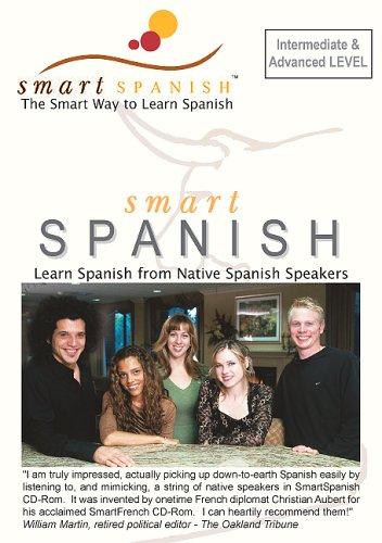 SmartSpanish Audio CDs Int/Adv - Learning Spanish the Smart Way: C. Aubert