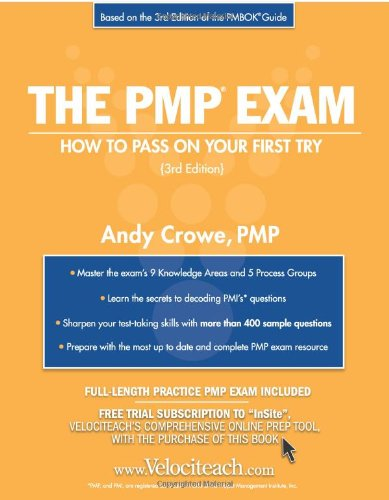 The PMP Exam: How to Pass On: PMP, Andy Crowe