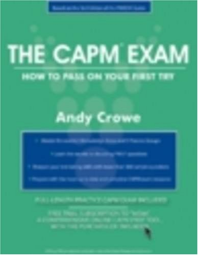 9780972967327: The CAPM Exam: How to Pass on Your First Try [With Free Trial Subscription to Insite Online Prep] (Test Prep Series)