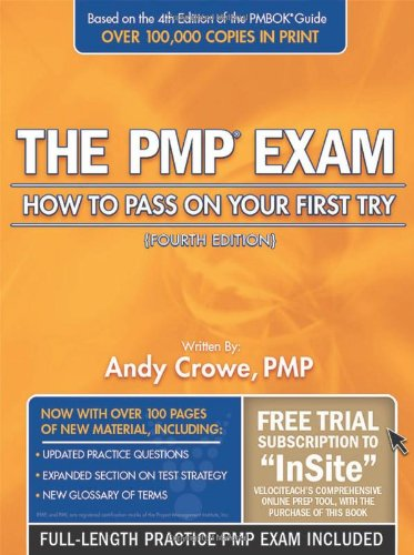 9780972967341: The PMP Exam: How to Pass on Your First Try, Fourth Edition