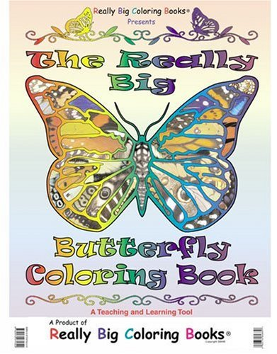 9780972975322: Big Book of Butterflies (Real Super Big Coloring Book ...