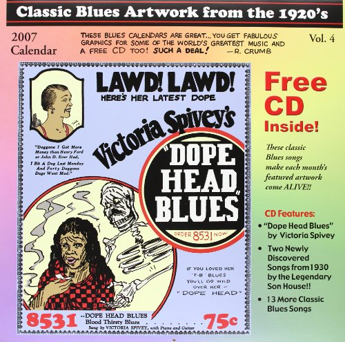 Classic Blues Artwork from the 1920's 2007 Calendar