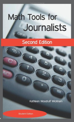 9780972993753: Math Tools for Journalists: Student Version