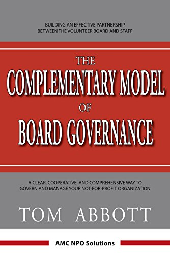 9780973018356: The Complementary Model of Board Governance