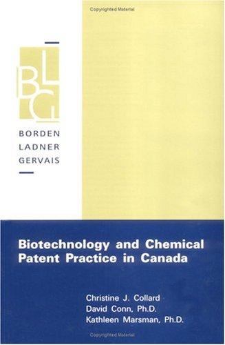 Biotechnology Canada - AbeBooks