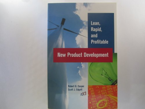 9780973282719: Lean, Rapid, and Profitable New Product Development