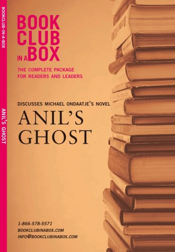 9780973398427: Bookclub in a Box Discusses Anil's Ghost, the Novel by Michael Ondaatje