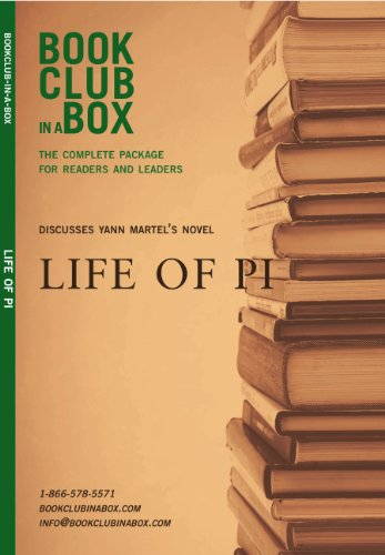 9780973398472: Bookclub-in-a-box Discusses Life of Pi, the novel by Yann Martel