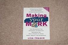Making Your Mark: Lisa Fraser
