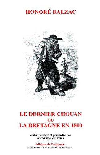 Le Dernier Chouan (Hardback): Honore de Balzac