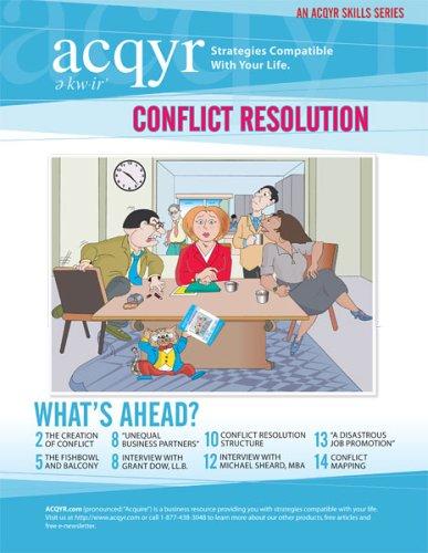 9780973766103: ACQYR Conflict Resolution