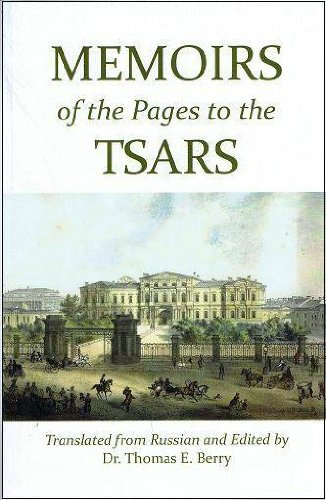 9780973783988: Memoirs of the Pages to the Tsars