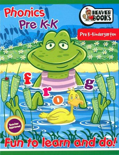 9780973896480: Phonic Pre K - K Workbook - Fun to Learn and Do