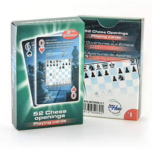 52 Chess Openings Playing Cards