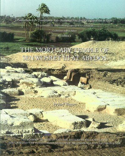 9780974002545: The Mortuary Temple of Senwosret III at Abydos (Publications of the Pennsylvania-Yale Expedition to Egypt)