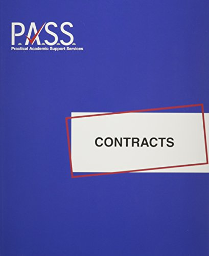 9780974008936: PASS: Contracts (PASS Study Guide Series)