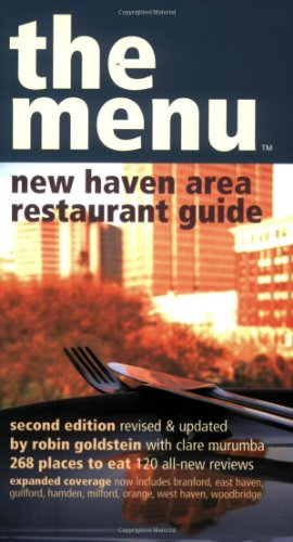 9780974014326: The Menu - New Haven Restaurant Guide