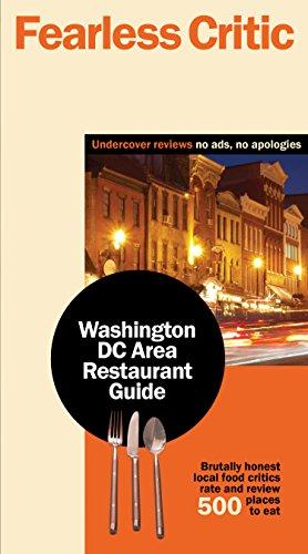 9780974014388: Fearless Critic Washington DC Area Restaurant Guide