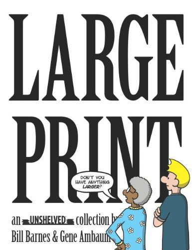 9780974035376: Large Print: an Unshelved collection